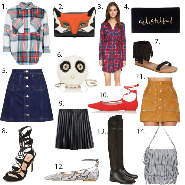 Fall Style Board must haves