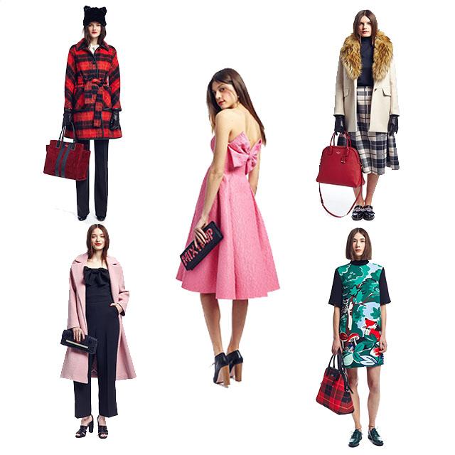 Kate Spade Fall 2015 Styleboard