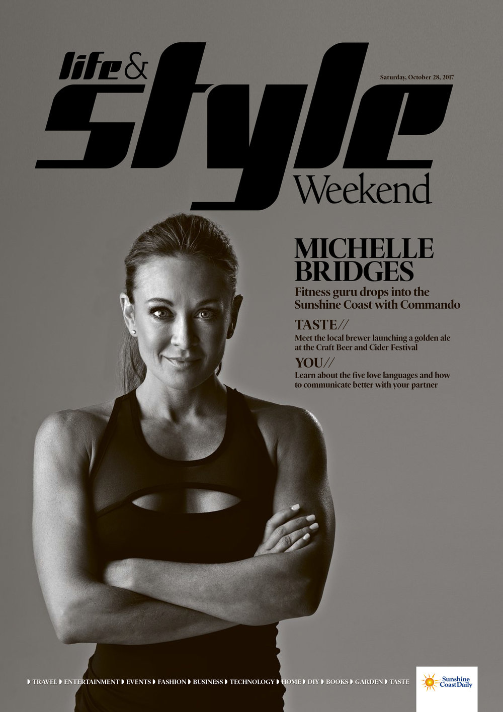 Michelle Bridges - Fitness guru drops into the Sunshine Coast with Commando