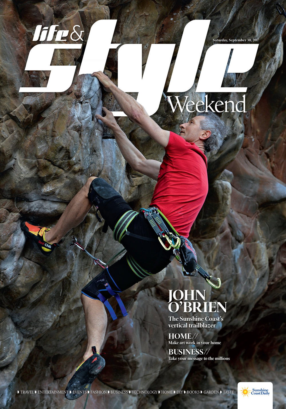 John O'Brien - the Sunshine Coast's vertical trail blazer