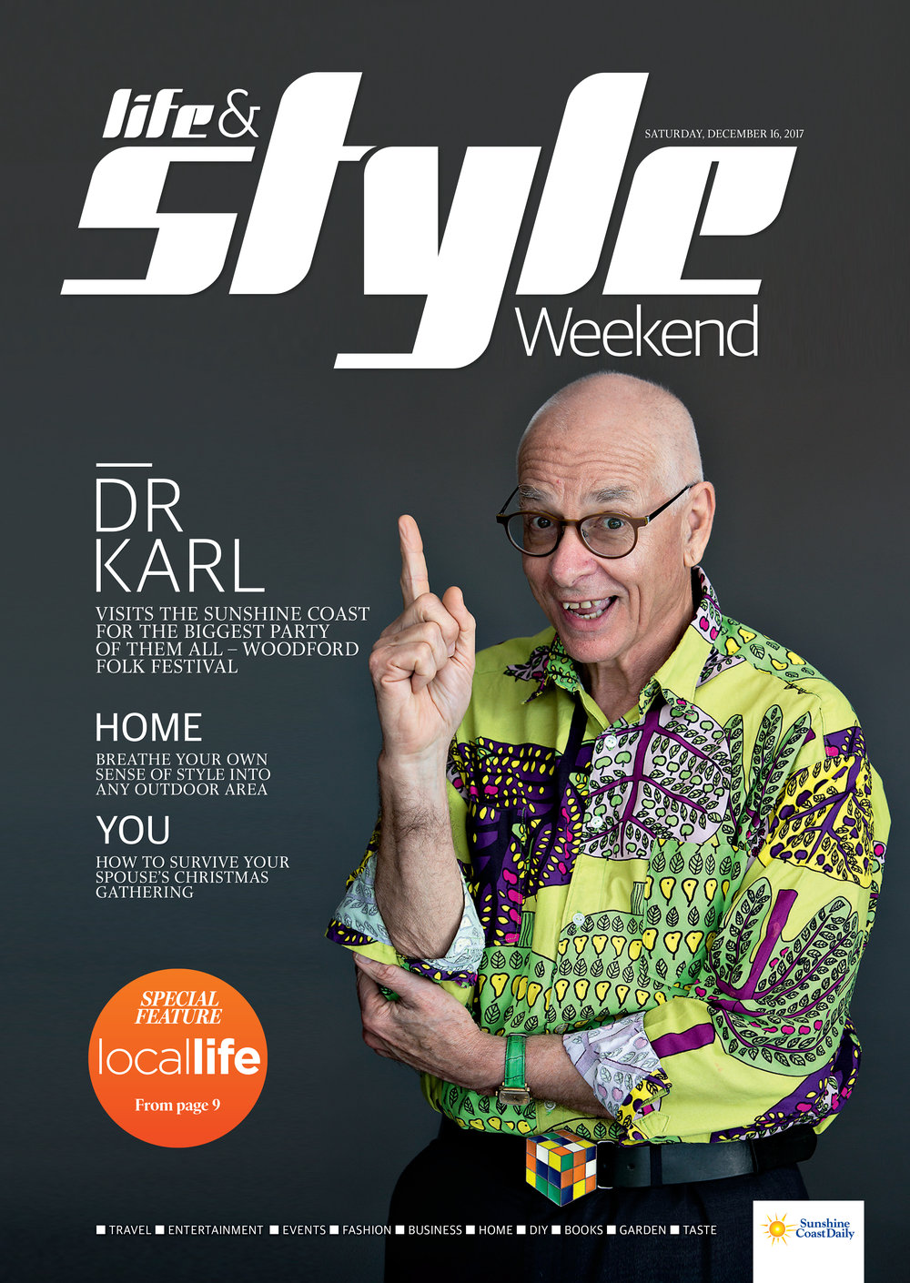 Dr Karl heads to the biggest party of them all