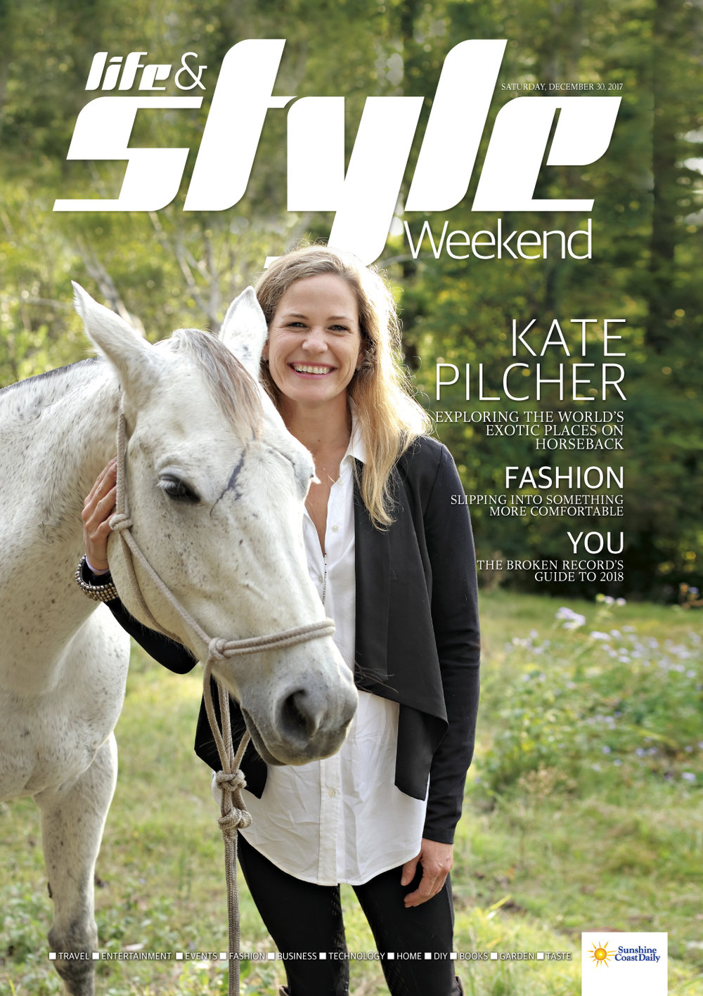 Kate Pilcher - exploring the world's exotic places on horseback
