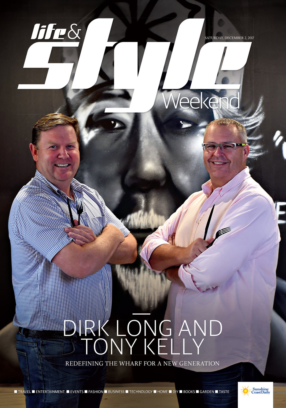 Dirk Long and Tony Kelly - redefining The Wharf for a new generation