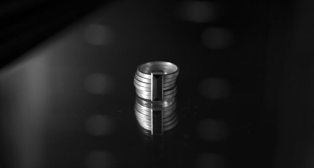 Stolen Girlfriends Club 6 Piece Onyx Ring
