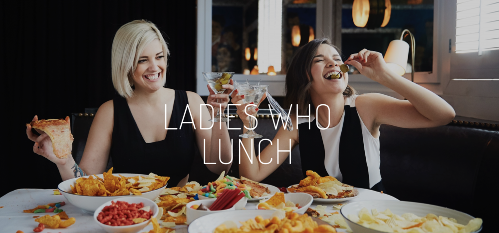 Ladies Who Lunch Podcast Banner Image