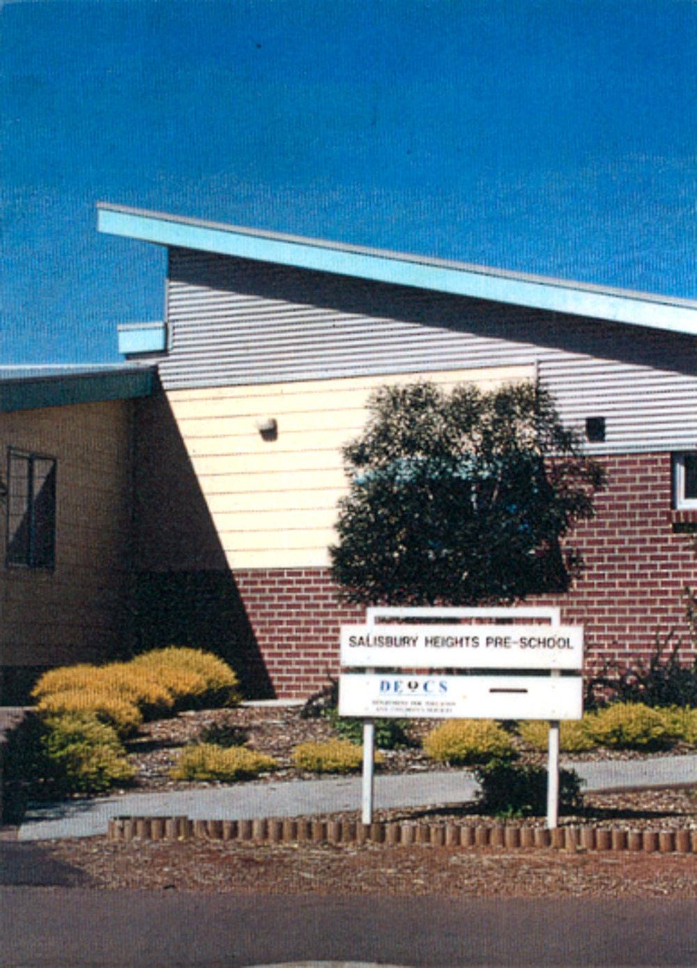 2000 - Salisbury Heights Pre-School