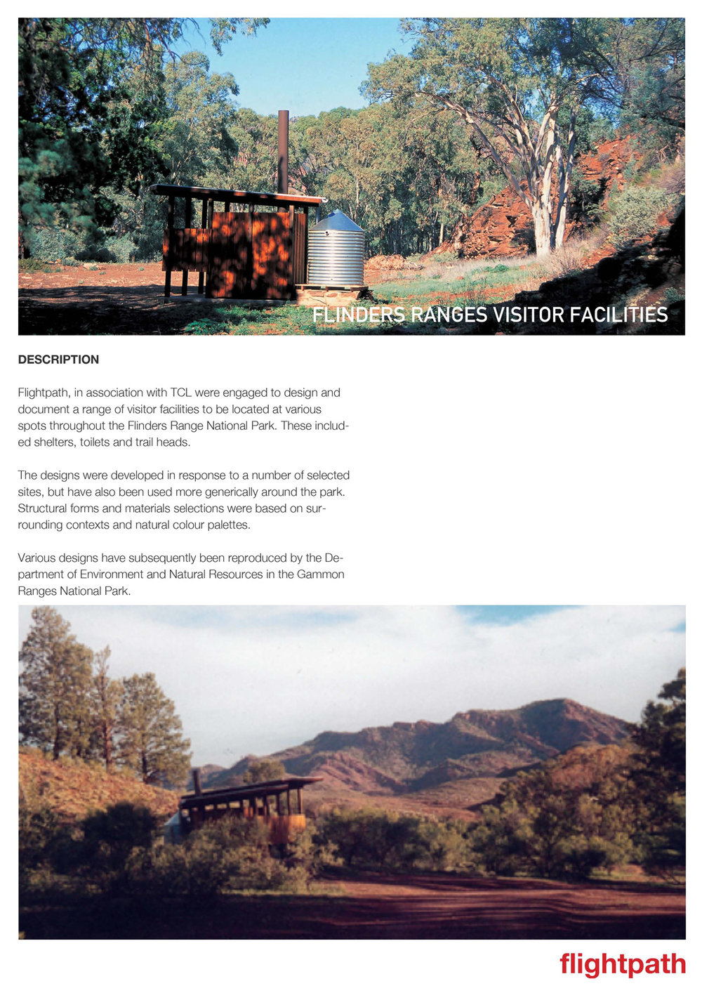 2000 Flinders Ranges Amenities