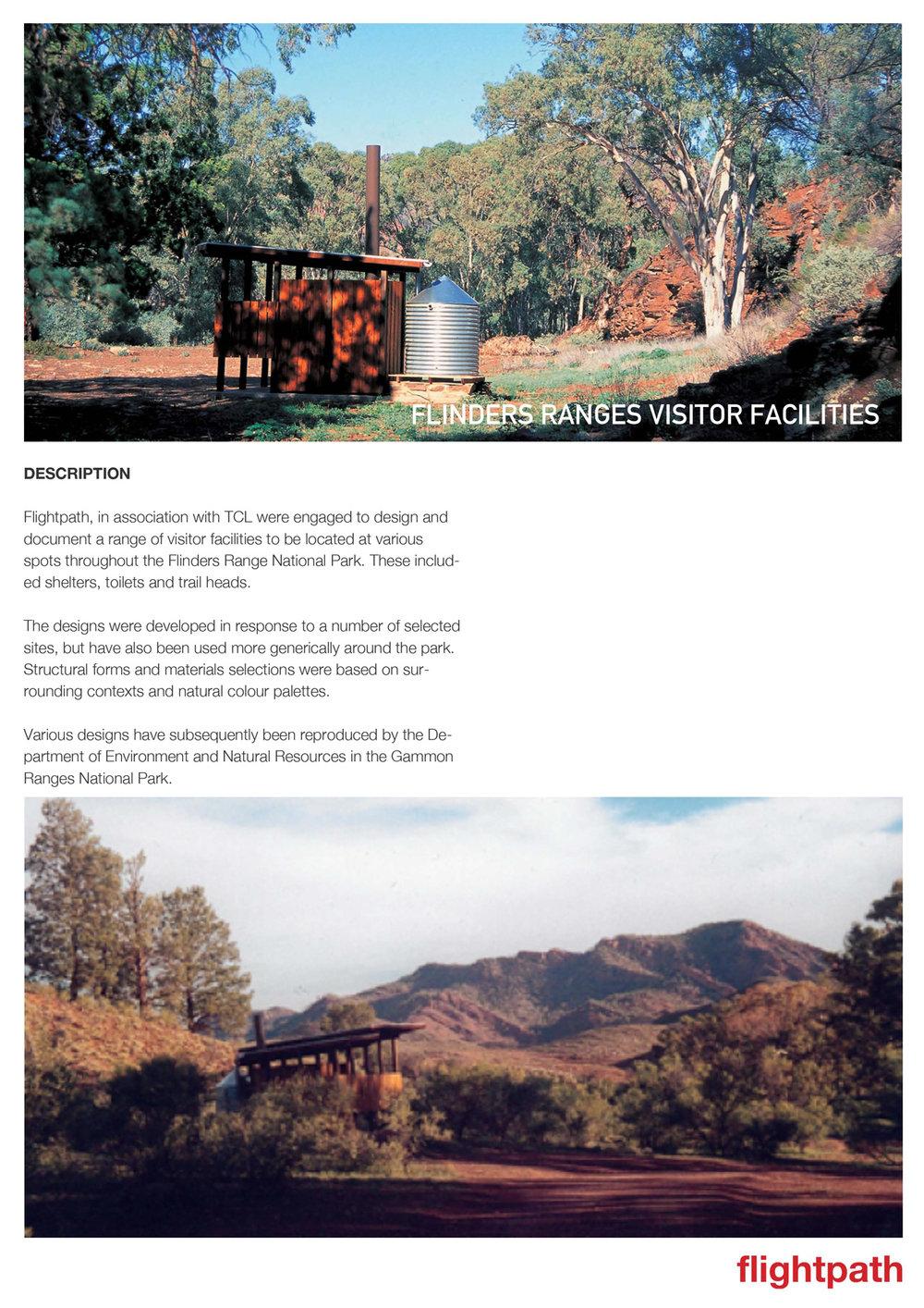 2000 Flinders Ranges Amenities