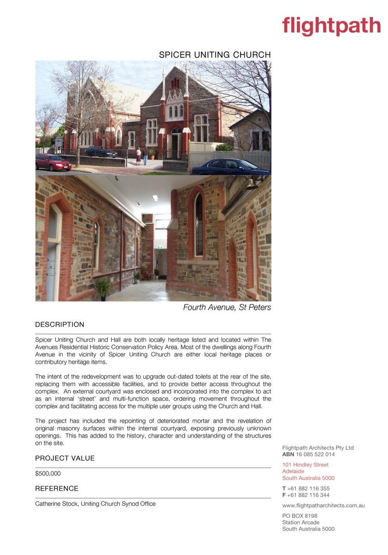 2012 - Spicer Church