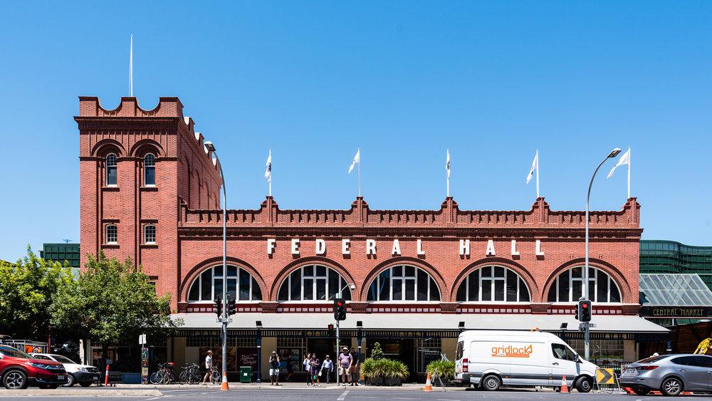 Central market Façade