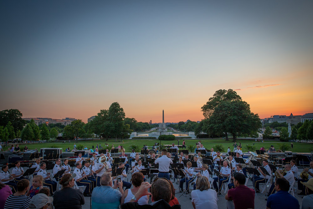 "Photo Credit: The United States Army Band ""Pershing's Own"""