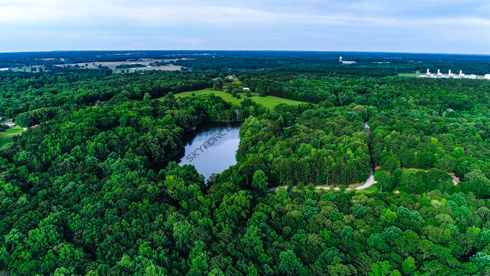 Drone Aerial Lake View