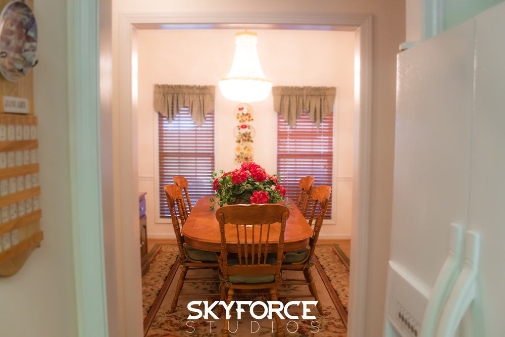 Dining Room Residential Realestate