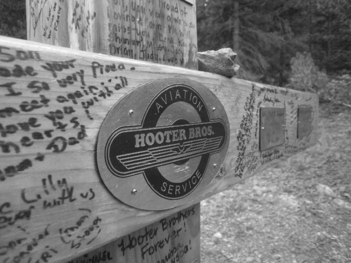 A memorial cross now stands at the Mt. Massive (Half Moon) Trailhead.