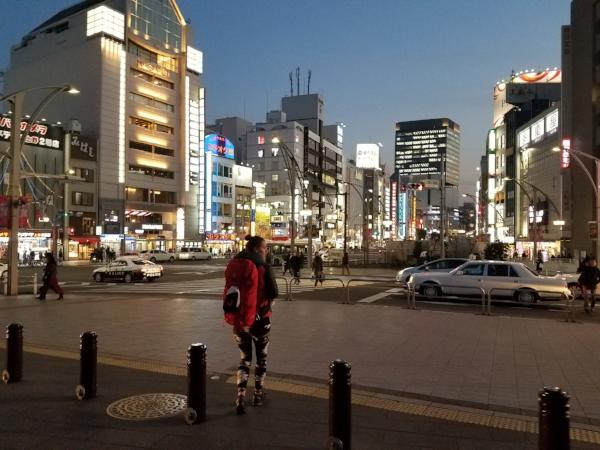 The journey begins, Tokyo, February 2018.
