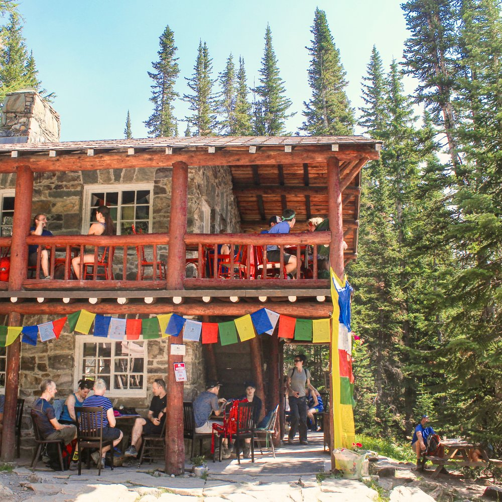 Plain of Six Glaciers wins the award for best teahouse, in my opinion!
