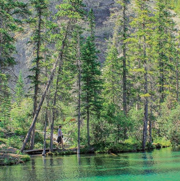 Grassi Lakes hike Canmore, Alberta, Canada