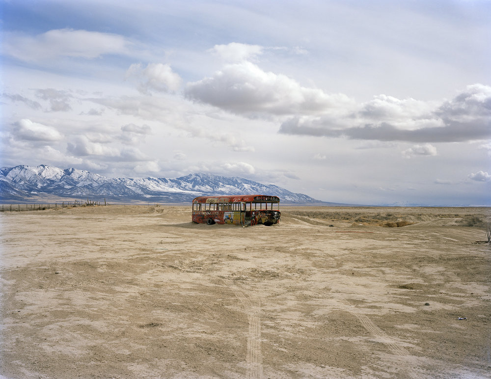 Untitled (School Bus), Delle, UT.