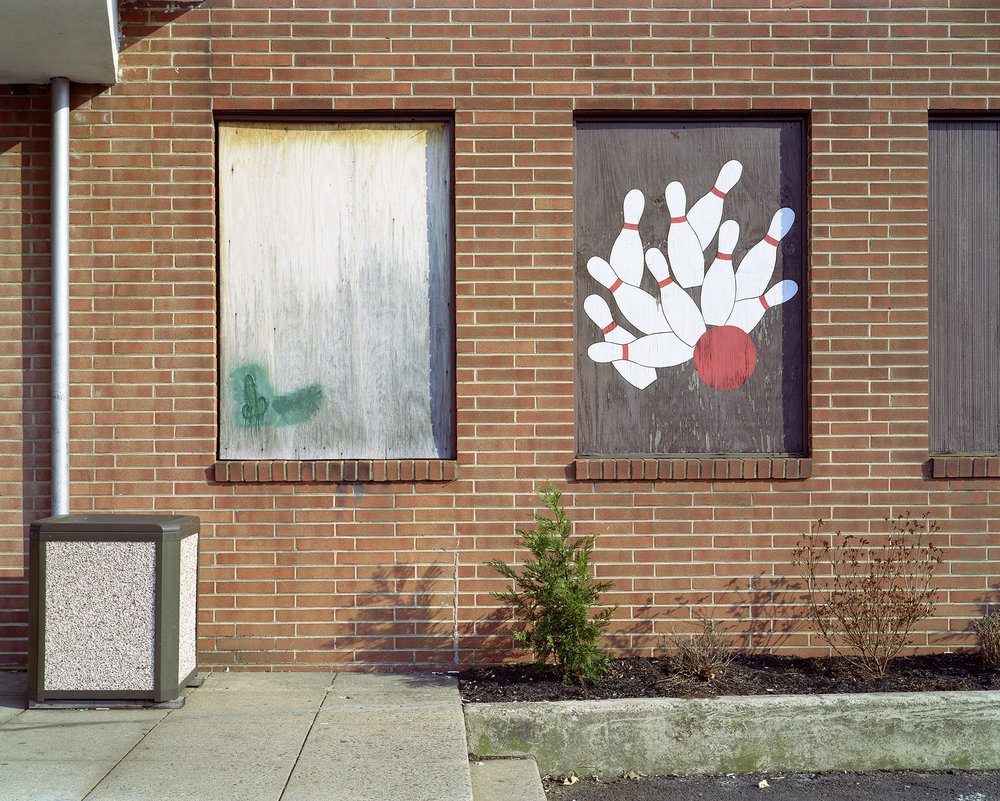 Green Penis with Bowling Pins (now demolished), Lansdale, PA.