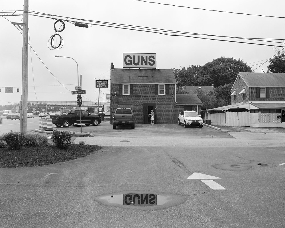 Miller's Gun Center, New Castle, Delaware.