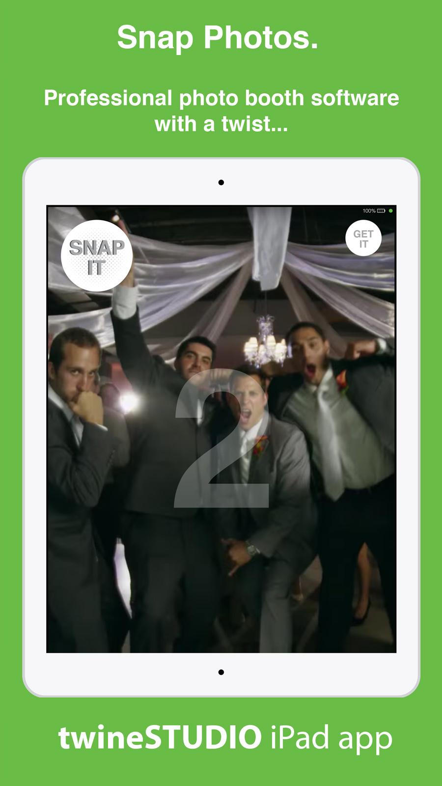 twineSTUDIO iPad app