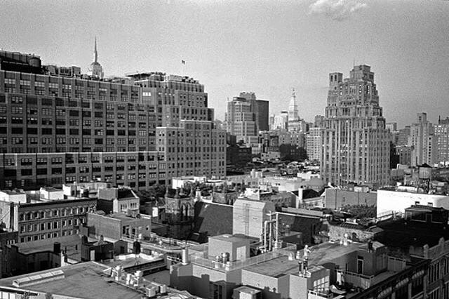 "REPOST: ""NYC rooftops from Hotel Gansevoort. #nyc #film #newyork #streetphotography #bw #blackandwhite #Leica #M4-P #rangefinder #filmisnotdead #analogue #35mm #summicron #cron #tmax400 #leicacraft #leicasphere #leicaology #leicahunter #leica_camera #leica_official #photographer #professionalphotographer #hotel #myfeatureshoot Dev and Scan @atkins_photo_lab #filmfriday : @simoncassonphotographer """