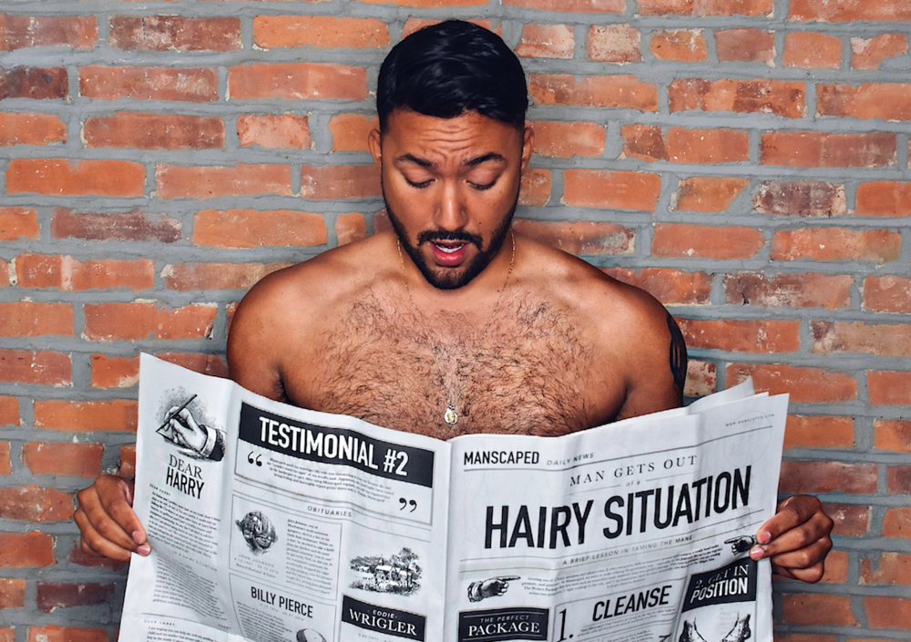 Down to Basics  -               with MANSCAPED