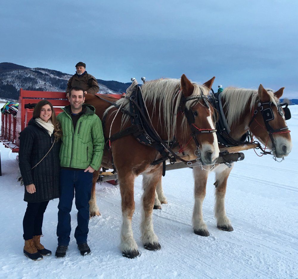We took a sleigh ride dinner and yes, it was absolutely amazing.