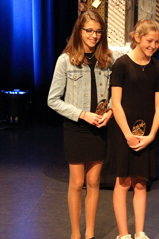 Méritas esprit d'équipe 11-12 ans: Marie Roy