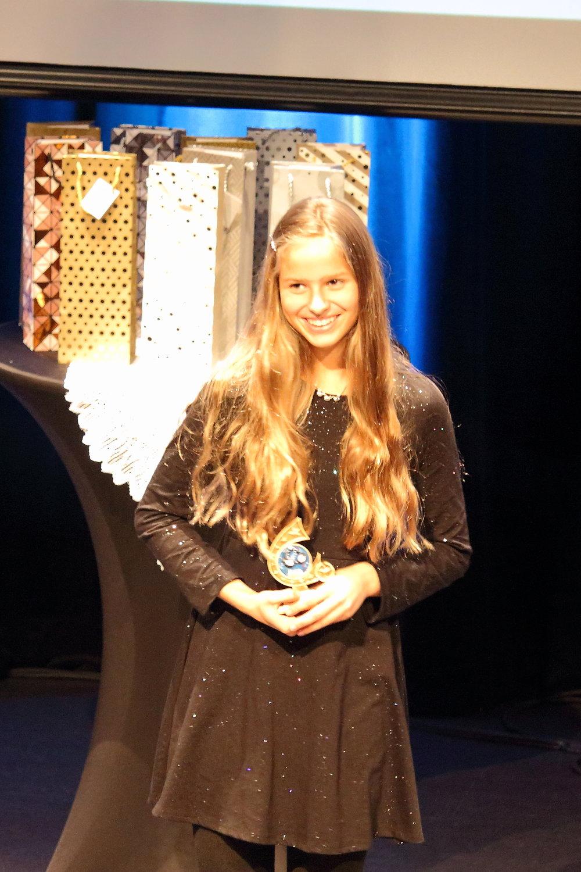 Méritas performance 11-12ans: Marie Bertrand-Parraga