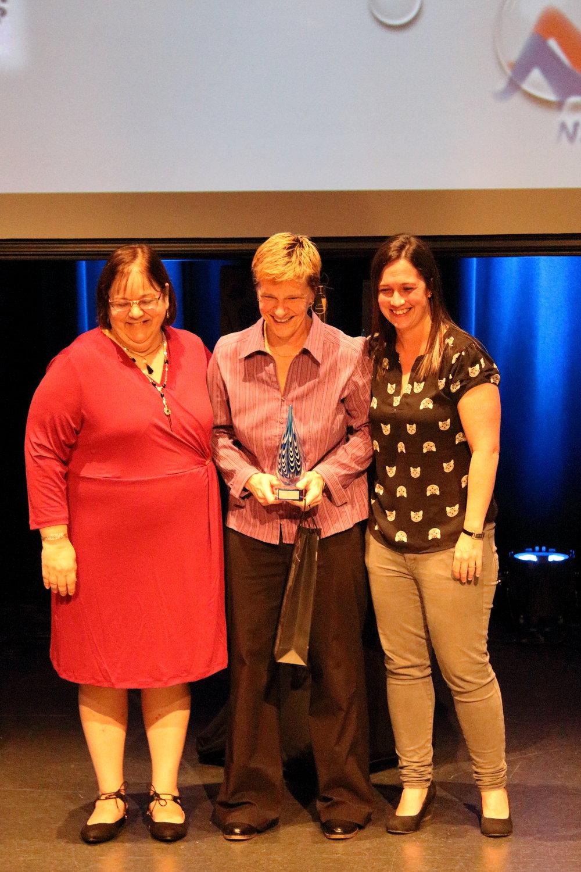Bénévole de l'année de l'ANQCA: Heather McFarlane