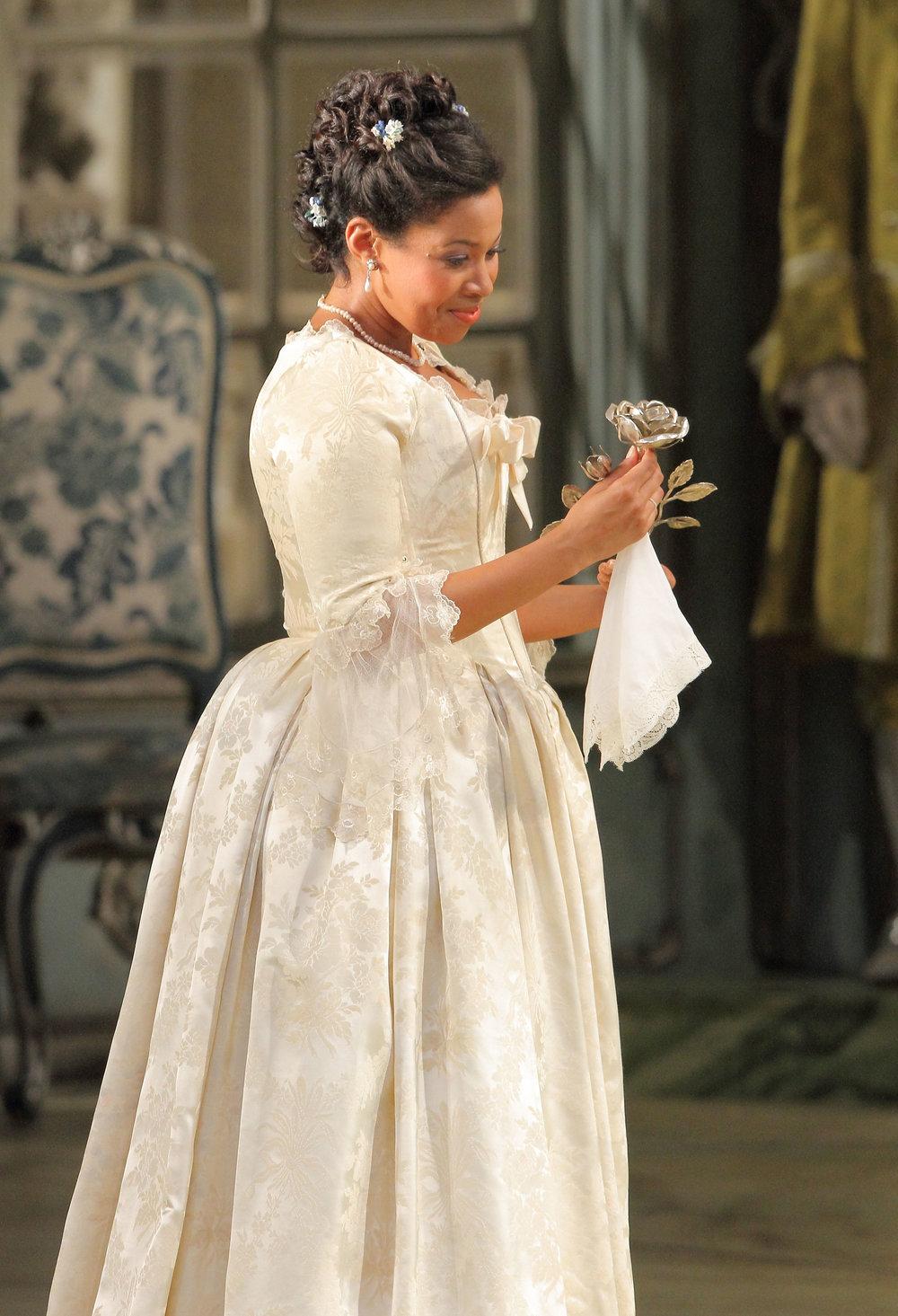 Sophie in  Der Rosenkavalier  at Bayerische Staatsoper Opernfestspiele
