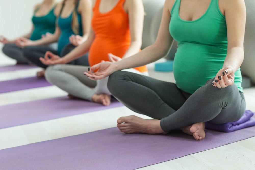 Mindful Mama Flow: Pre & Postnatal Yoga Series