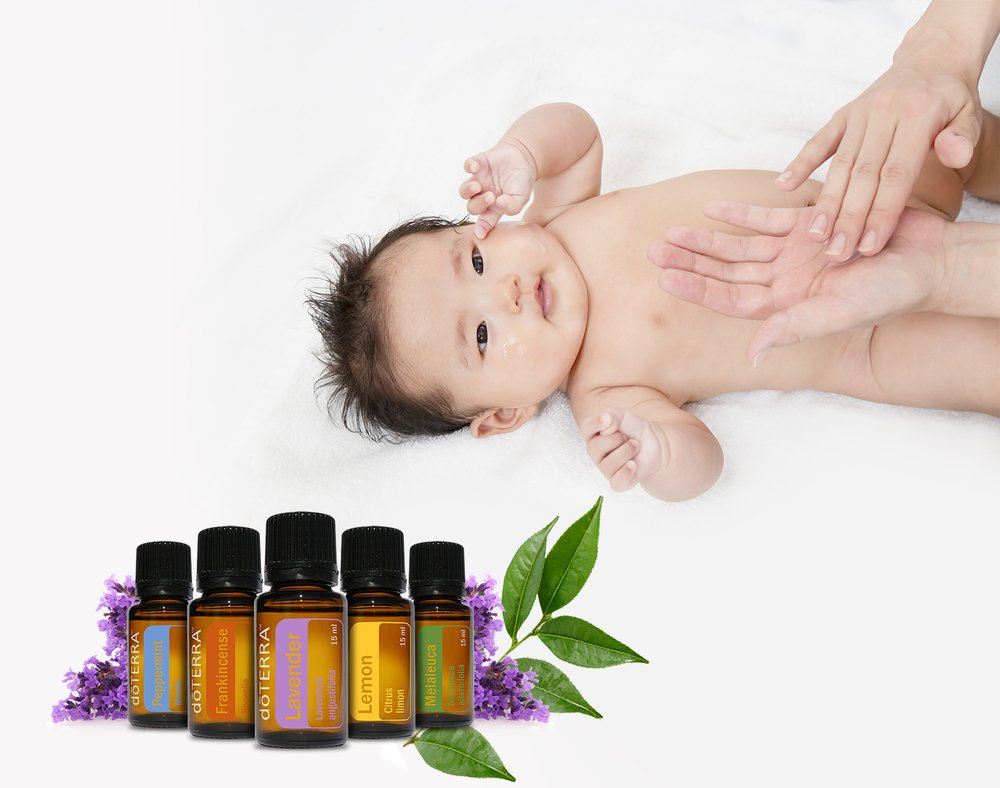 Essential Oils for Mommy & Me