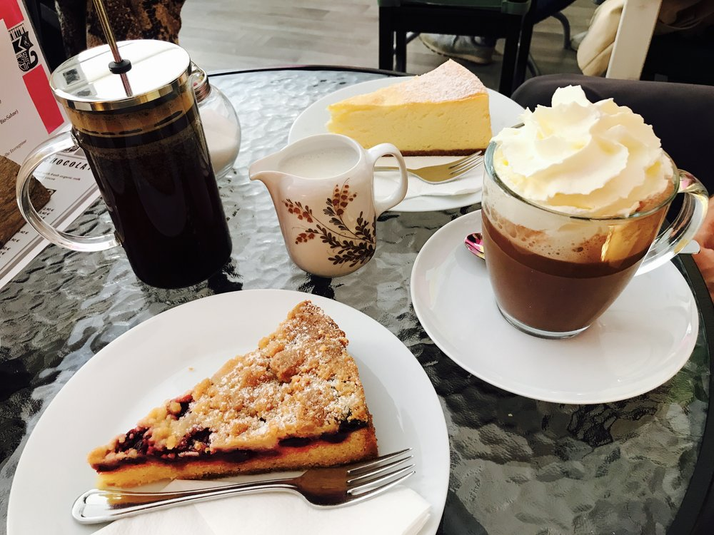 Outstanding coffee and cake at Zur Mieze, Berlin, Germany