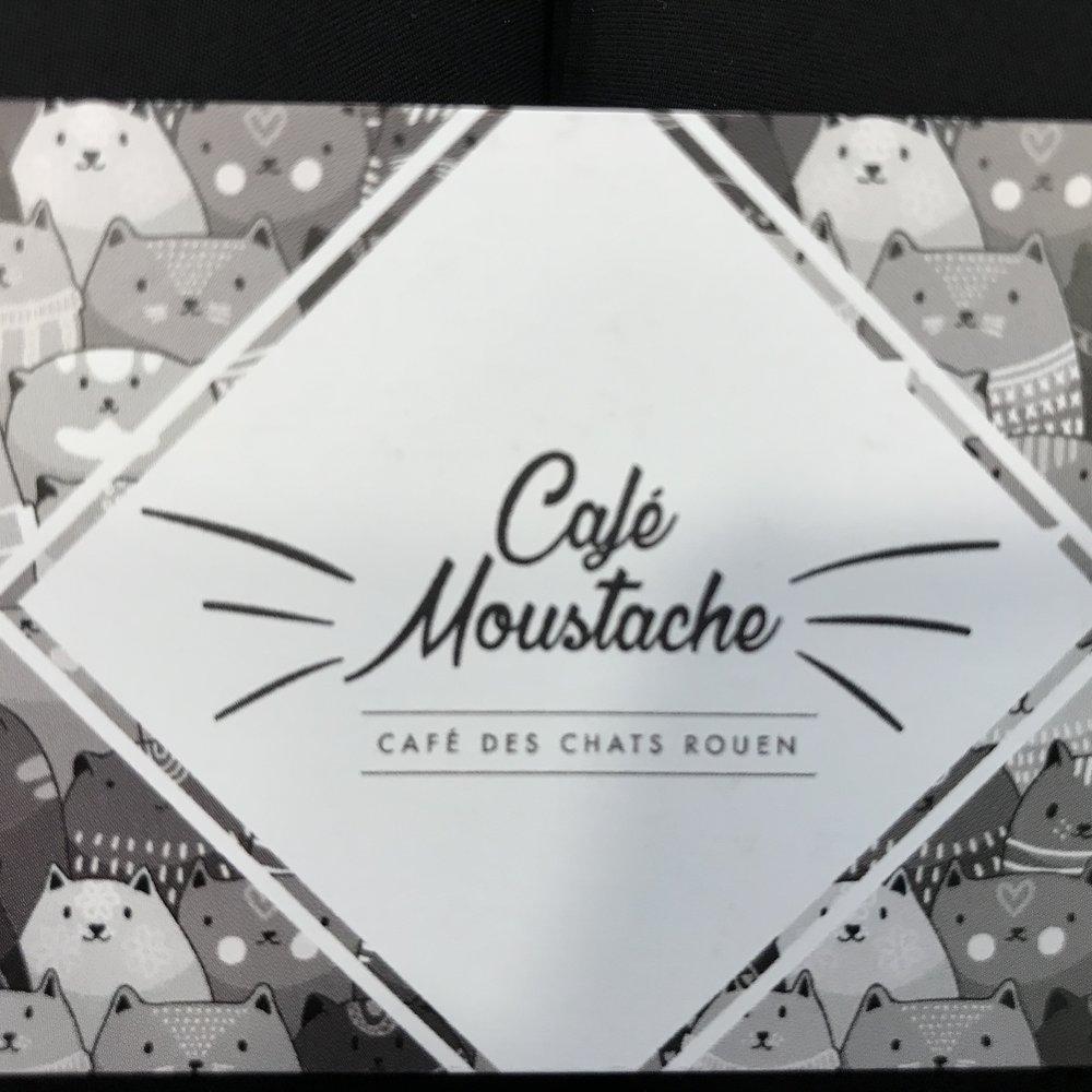 Cafe Moustache Rouen, France