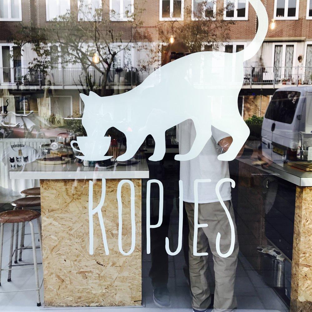 Kattencafe Kopjes   Amsterdam, Netherlands