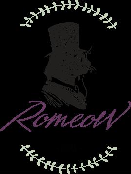 Romeow Cat Bistrot logo.png