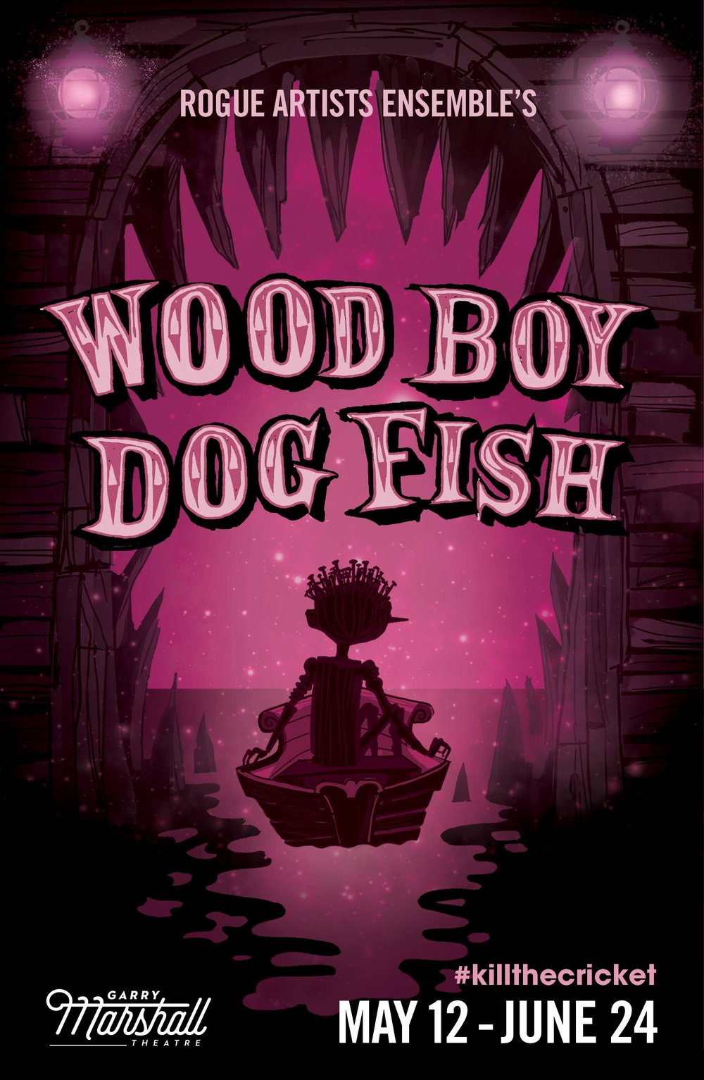 Wood Boy Dog Fish - May 18 – June 24, 2018 Previews:Saturday, May 12 at 8pm,Sunday May 13 at 3pm & 7:30pm, Wednesday May 16 at 8pm