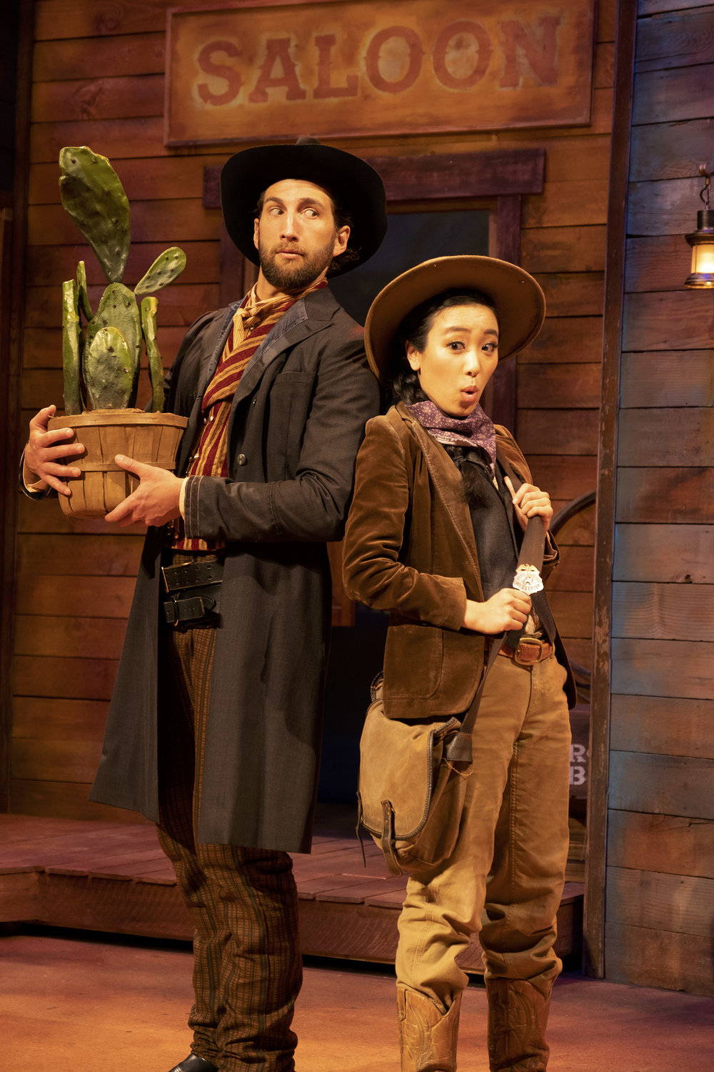 FROM LEFT TO RIGHT: CLAYTON SNYDER & GRACE YOO  PHOTO CREDIT: AARON BATZDORFF