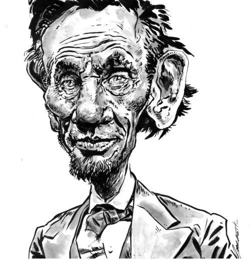 Honest Abe Abraham Lincoln Garrett Morlan