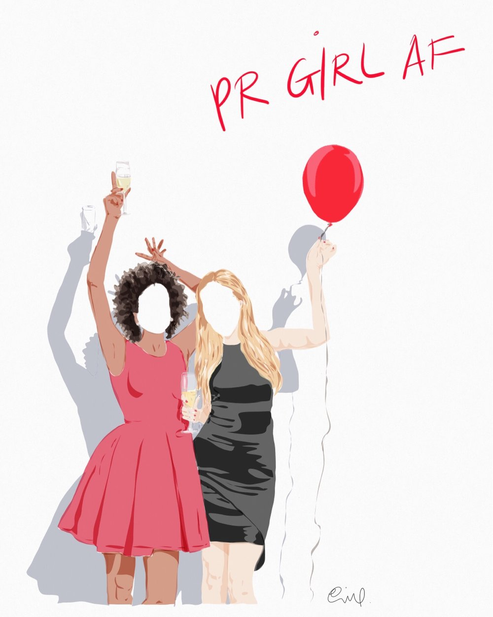 Limited edition print for PR GIRL MANIFESTO event - NYC