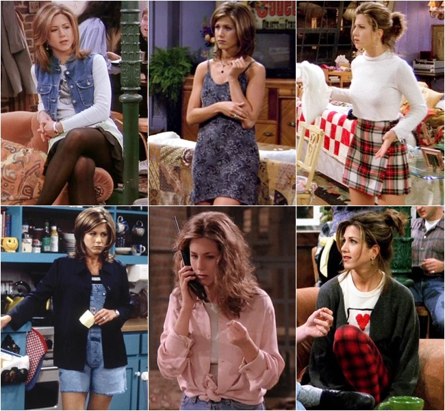 Let's take a moment to appreciate Rachel Green's effortless style.
