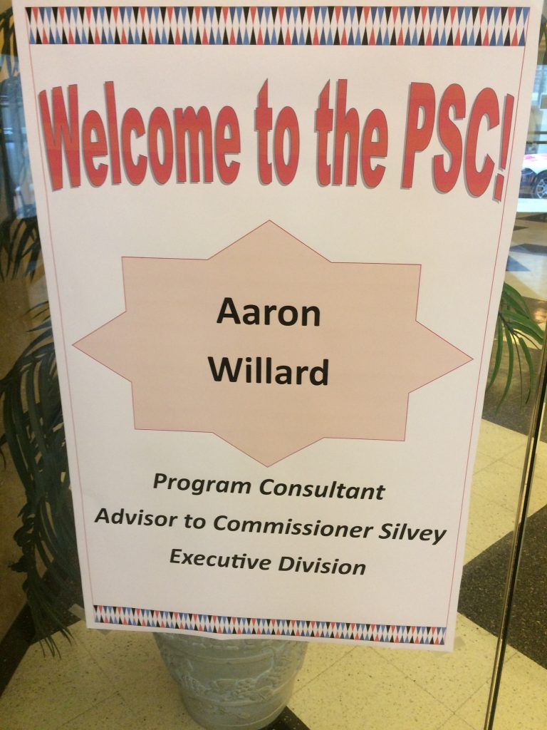 Willard PSC Welcome