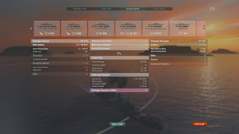One of my few games in the Fiji that I had no torpedo hits