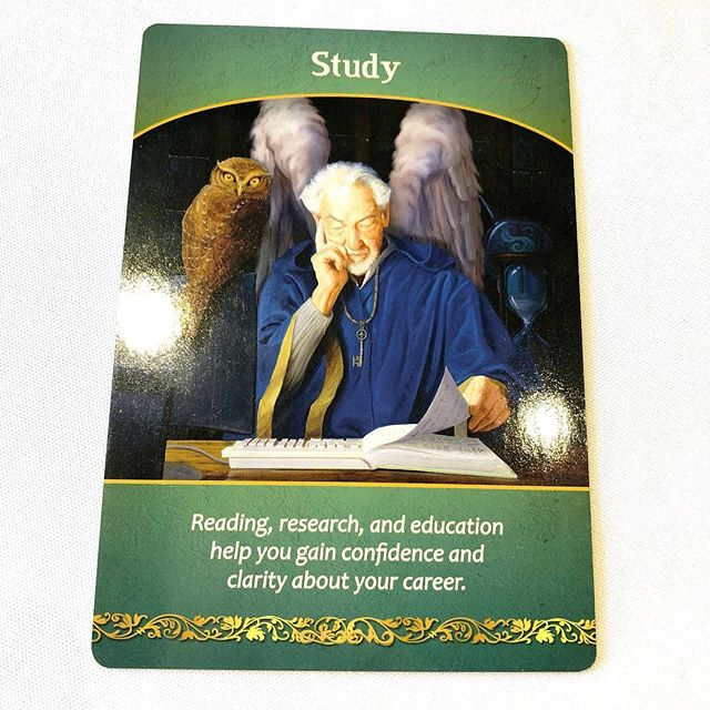 Your card is about studying. Your angels want you to know just how much you will benefit from taking the time to do a bit of research. You also have a strong supporter in your corner I am hearing, that is cheering you on. Time is ticking and it is also playing a role right now in your life. Make the time you need to explore subject that has been calling to you.