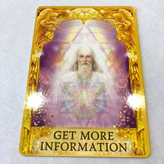 Your card for today is about gathering more information. I am hearing that you feel like you are ready to make a decision, but the angels ask that you look a bit deeper first. There is more to this than initially meets the eye. Take a bit more time before you take the next step.