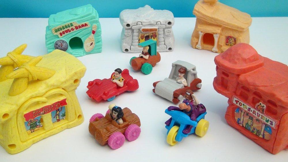 McDonald's Flinstones Happy Meal Toys
