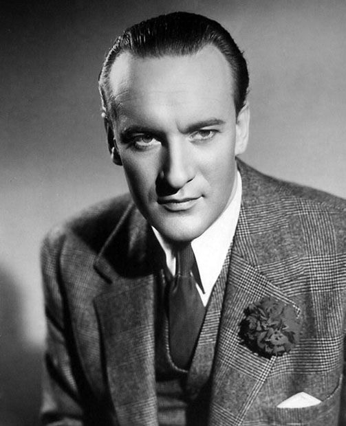 Voice Actor George Sanders