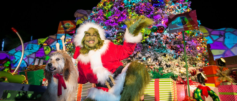 The Grinch and Max at Grinchmas